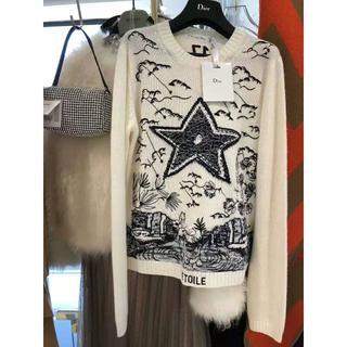 ディオール(Dior)の【Dior】2020Cruise 新作 タロット スター 刺繍入り セーター(ニット/セーター)