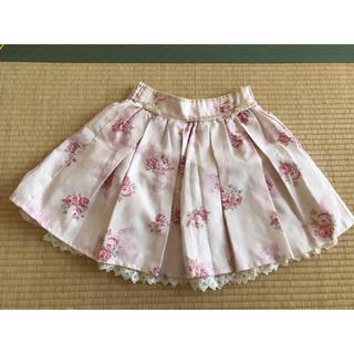 LIZ LISA - リズリサ スカート ピンク ローズ柄