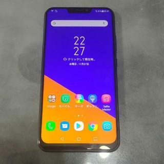 ASUS - ZenFone 5Z シャイニーブラック 128GB SIMフリー国内版 難あり