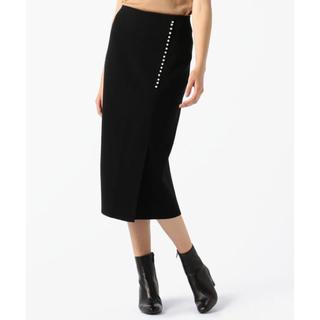 TOMORROWLAND - 新品。TOMORROWLANDパールタイトスカート