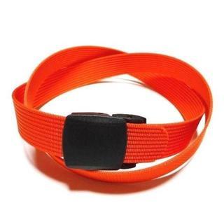 オレンジ 32mm ナイロン プラスチック バックルベルト