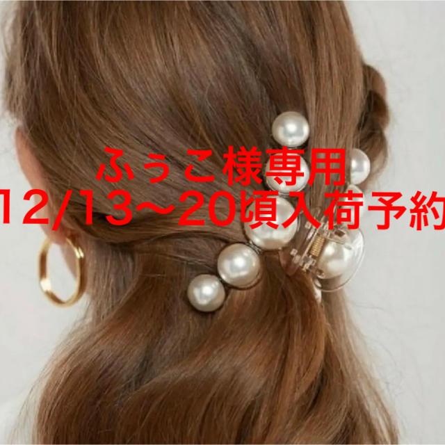 eimy istoire(エイミーイストワール)のふぅこ様専用♡ 12/13~20までに入荷予定 ベージュ1点ご予約 レディースのヘアアクセサリー(バレッタ/ヘアクリップ)の商品写真