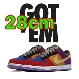 ナイキ(NIKE)のNIKE DUNK LOW  VIOTEC SP  28.0(スニーカー)