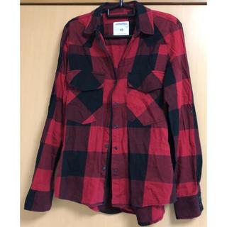 ザラ(ZARA)のZARA woman《チェックシャツ》赤×黒 XS(シャツ/ブラウス(長袖/七分))