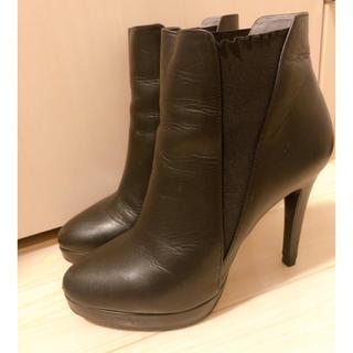 ダイアナ(DIANA)のダイアナ サイドゴアショートブーツ 24cm(ブーツ)