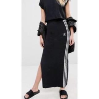 adidas ロングスカート