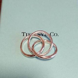 Tiffany & Co. - ティファニー 3連リング