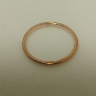 ピンクゴールド ピンキーリング(リング(指輪))