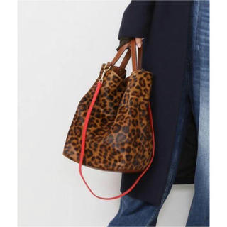 DEUXIEME CLASSE - ドゥーズィエムクラス★BAGS IN PROGRESS LEOPARD BAG
