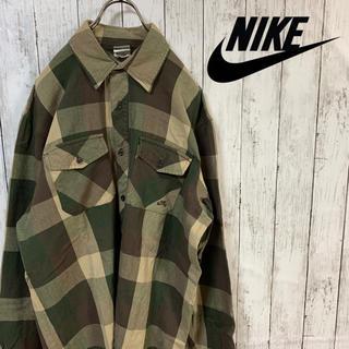 NIKE - NIKE SB ナイキ チェックシャツ