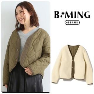 B:MING LIFE STORE by BEAMS - 【B:MING by BEAMS】リバーシブルボアブルゾン
