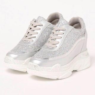 Shoes in Closet キラキララメ 厚底ダッドスニーカー(スニーカー)