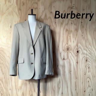 バーバリー(BURBERRY)の90's Burberrys イングランド 製 ウール  テーラード ジャケット(テーラードジャケット)