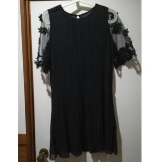 グレイル(GRL)のプリーツドレス(ミニワンピース)