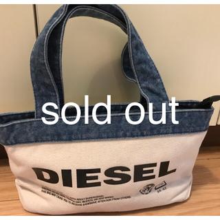DIESEL - 売り切れました!DIESEL キャンバス トートバッグ