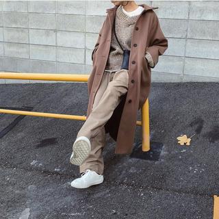 ディーホリック(dholic)のディーホリック ブラウン シャツ型 コート(ロングコート)