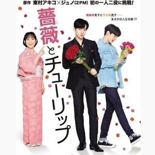 薔薇とチューリップ 2PM ジュノ DVD