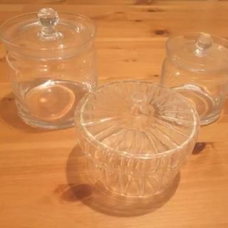 キャトルセゾン(quatre saisons)のキャトルセゾン  ガラス瓶 3個セット(容器)