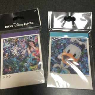 Disney - ディズニーランド 蜷川美香 コラボ写真メモノート 未開封