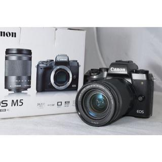 Canon - 綺麗な展示品☆Canon EOS M5 EF-M18-150 レンズキット