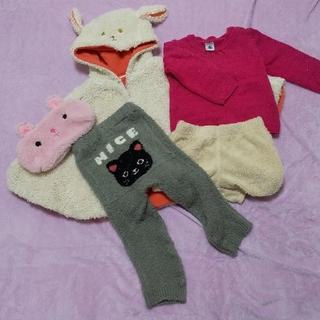 プチバトー(PETIT BATEAU)の冬の服まとめ売り babyGap PETIT BATEAU 西松屋 5点セット(ニット/セーター)