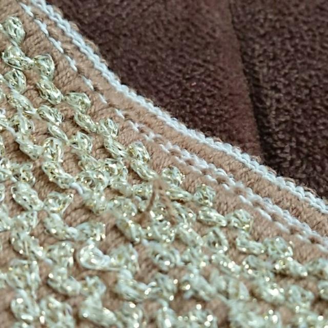 grove(グローブ)の膝丈 プリーツスカート ピンク ラメ レディースのスカート(ひざ丈スカート)の商品写真