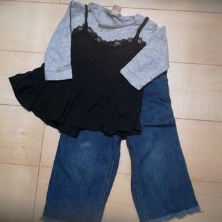 プティマイン(petit main)のプティマイン 格安上下セット(Tシャツ/カットソー)