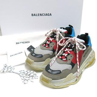 バレンシアガ(Balenciaga)の新宿伊勢丹購入レシート付 BALENCIAGA TRIPLE S トリプル S (スニーカー)