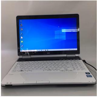 エヌイーシー(NEC)のNEC ノートPC Win10 Core i7 8GB SSD 240GB(ノートPC)