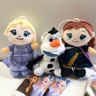 Disney - ディズニー アナと雪の女王2 ぬいぐるみ マスコット キーホルダー 3個セット♪