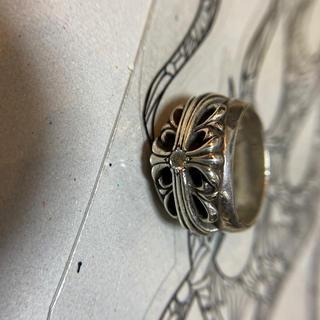 クロムハーツ(Chrome Hearts)のクロムハーツ フローラルクロスリング 1pダイヤ(リング(指輪))