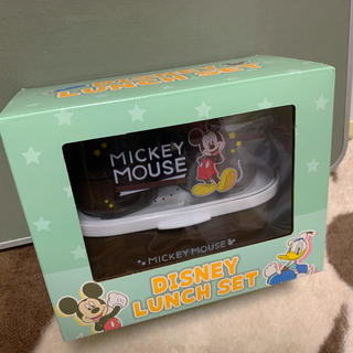 Disney - ディズニーランチセット ミッキーマウス【プライズ】