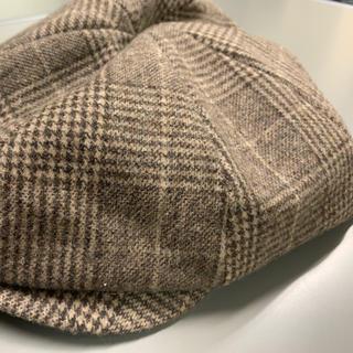 イーハイフンワールドギャラリー(E hyphen world gallery)のチェック キャスケット 帽子 ハンチング ハット(その他)
