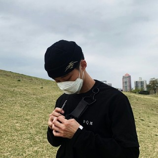 HYSTERIC MINI - HYEIN SEO ニット帽ブラック黒