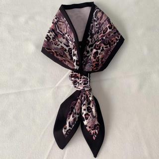 エイミーイストワール(eimy istoire)のMix tie scarf pink No.223(バンダナ/スカーフ)
