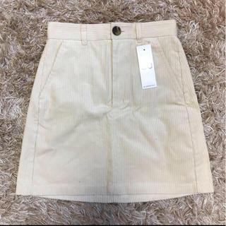GU - コーデュロイ スカート