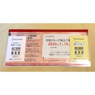 ケイハンヒャッカテン(京阪百貨店)のnn7010raku様専用 京阪グループ株主優待(鉄道乗車券)
