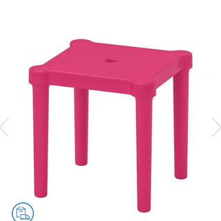 イケア(IKEA)の❤新品未使用❤IKEA/イケア UTTER  ピンク キッズチェア(その他)