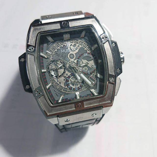 シャネル 腕時計 スーパーコピー n級品 / HUBLOT -  美品!HUBLOT  スピリット オブ ビッグバン チタニウム セラミック の通販 by クマゴロウ's shop