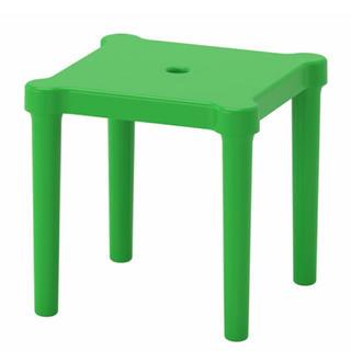 イケア(IKEA)の❤新品未使用❤IKEA/イケア UTTER  グリーン  キッズチェア(その他)