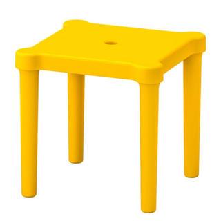 イケア(IKEA)の❤新品未使用❤IKEA/イケア UTTER  イエロー  キッズチェア(その他)