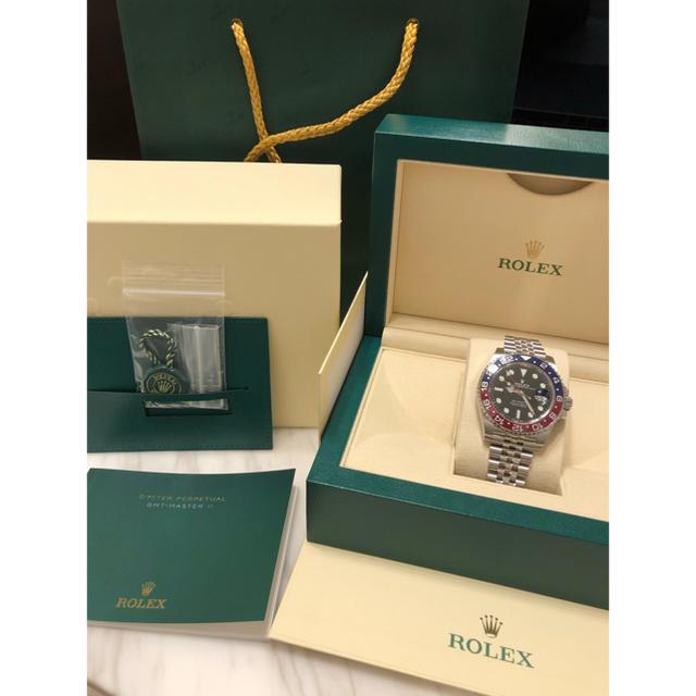 パテック フィリップ ノーチラス 人気 | ROLEX - 確実正規品 ロレックス GMTマスターⅡ 126710の通販 by  ユウキ's shop