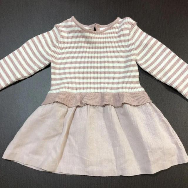 ZARA KIDS(ザラキッズ)のザラベイビー  ワンピース キッズ/ベビー/マタニティのベビー服(~85cm)(ワンピース)の商品写真