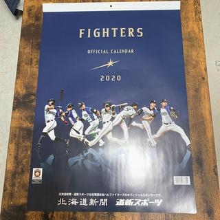 ホッカイドウニホンハムファイターズ(北海道日本ハムファイターズ)の日本ハムファイターズ 2020オフィシャルカレンダー(カレンダー/スケジュール)