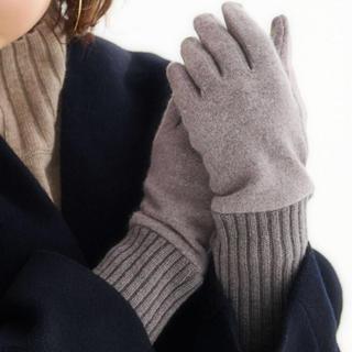 グリーンレーベルリラクシング(green label relaxing)のgreen label relaxing 今季購入 手袋 スマホ対応(手袋)