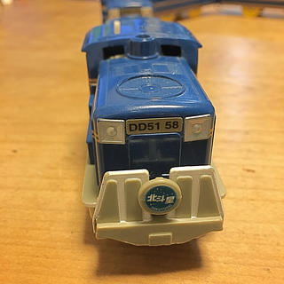 トミー(TOMMY)のプラレール いっぱいつなごうブルートレインセット 北斗星(電車のおもちゃ/車)