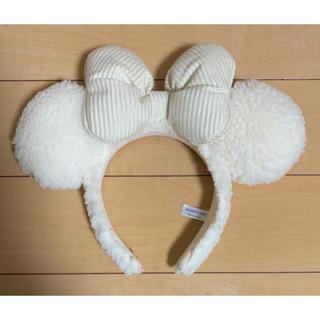 Disney - ディズニー ミニーカチューシャ ホワイト