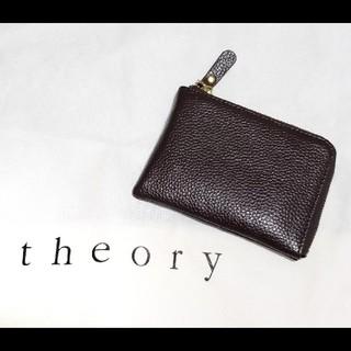 セオリー(theory)の本革 牛革 L字ファスナー 財布(財布)