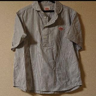 ダントン(DANTON)のDANTON ストライプシャツ(シャツ/ブラウス(半袖/袖なし))