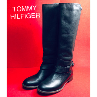TOMMY HILFIGER - TOMMY HILFIGER★ トミーヒルフィガー★レザー エンジニア